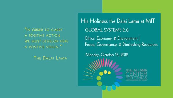 Dalai Lama at MIT 2