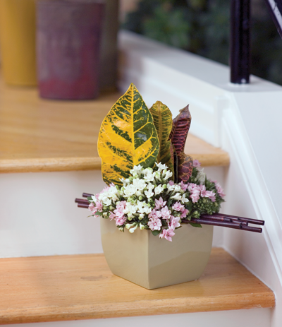 Small Container Arrangement