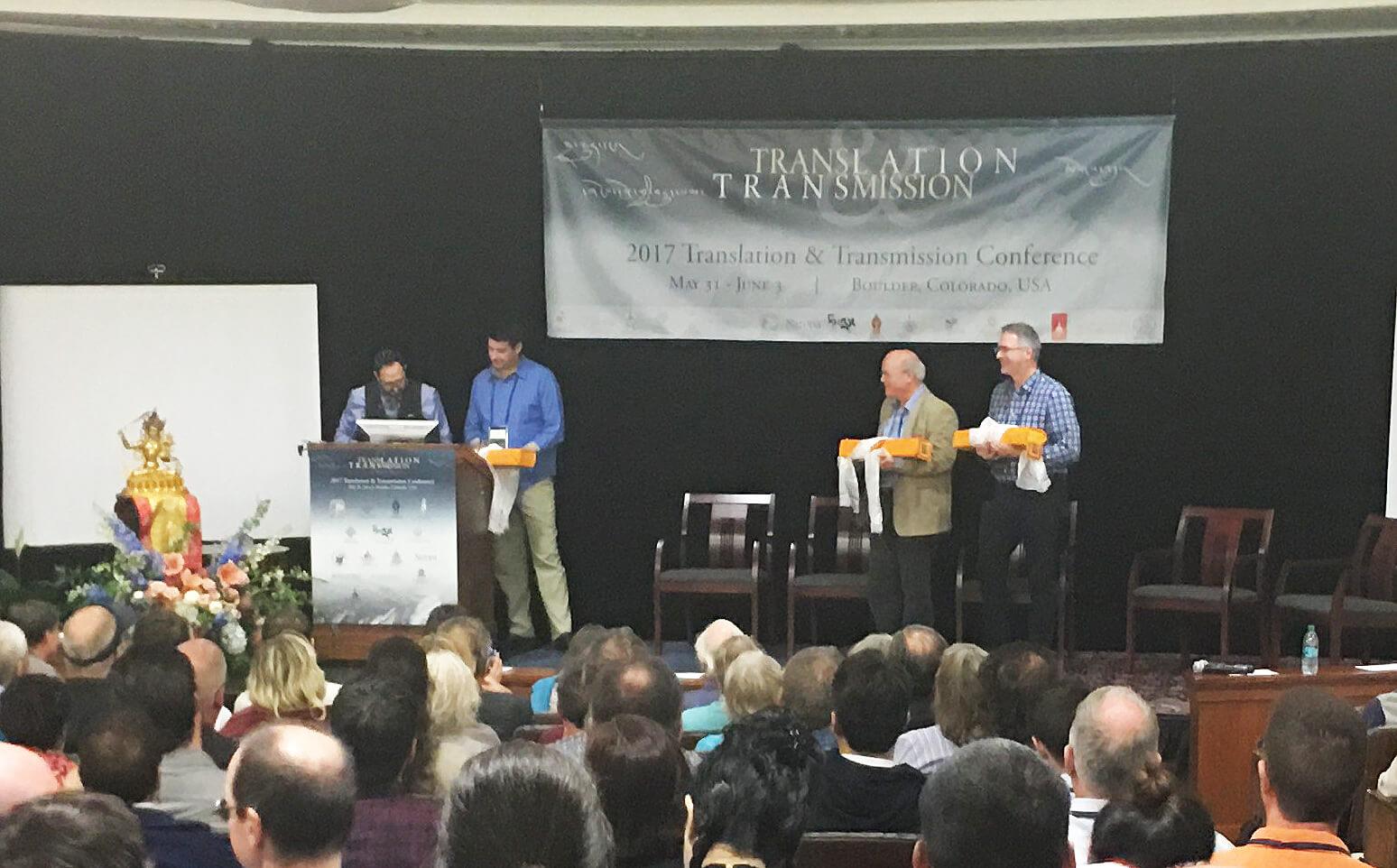 Padmakara Translation Group Receives the 2017 Shantarakshita Award