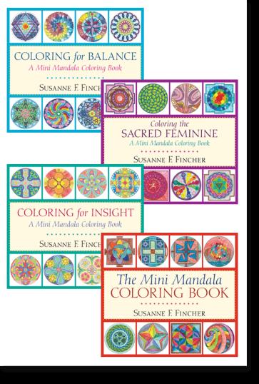 Mini Mandala Coloring Books