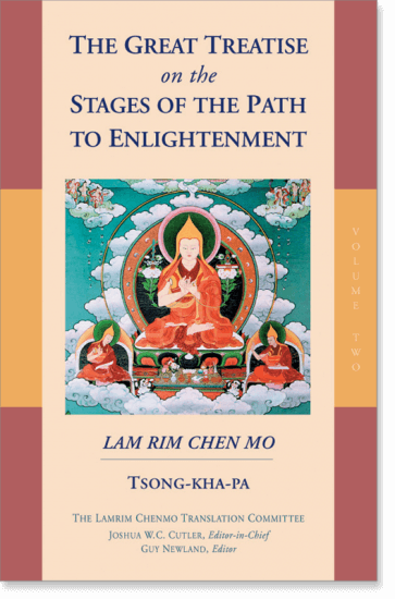 The Great Treatise on the Stages of the Path to Enlightenment: Volume Three