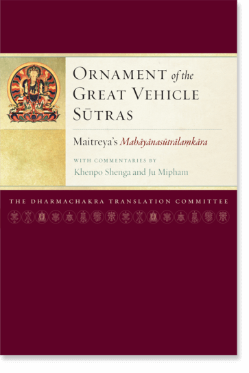 ornament of the mahayana sutras
