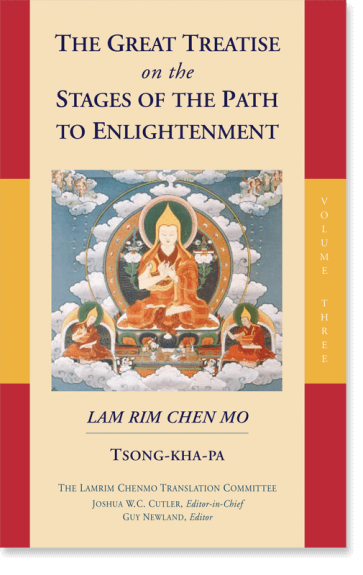 The Great Treatise on the Stages of the Path to Enlightenment (Volume 3)