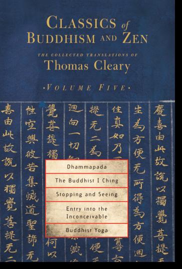 Classics of Buddhism and Zen, Volume Five