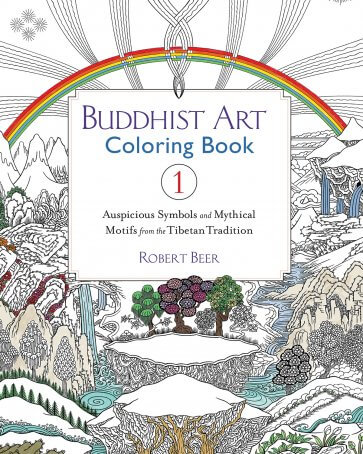 Buddhist Art Coloring Book 1