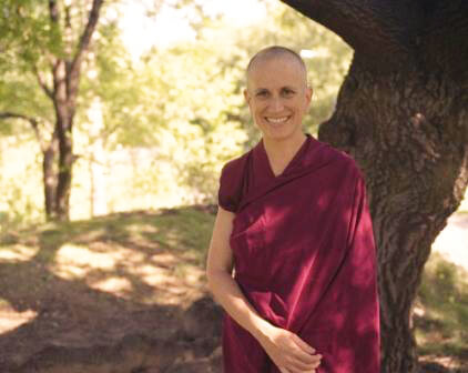 Public talk on Good Karma: How to Create the Causes of Happiness and Avoid the Causes of Suffering by Venerable Thubten Chodron
