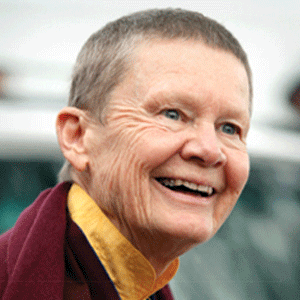 Pema Chodron at the Omega Institute