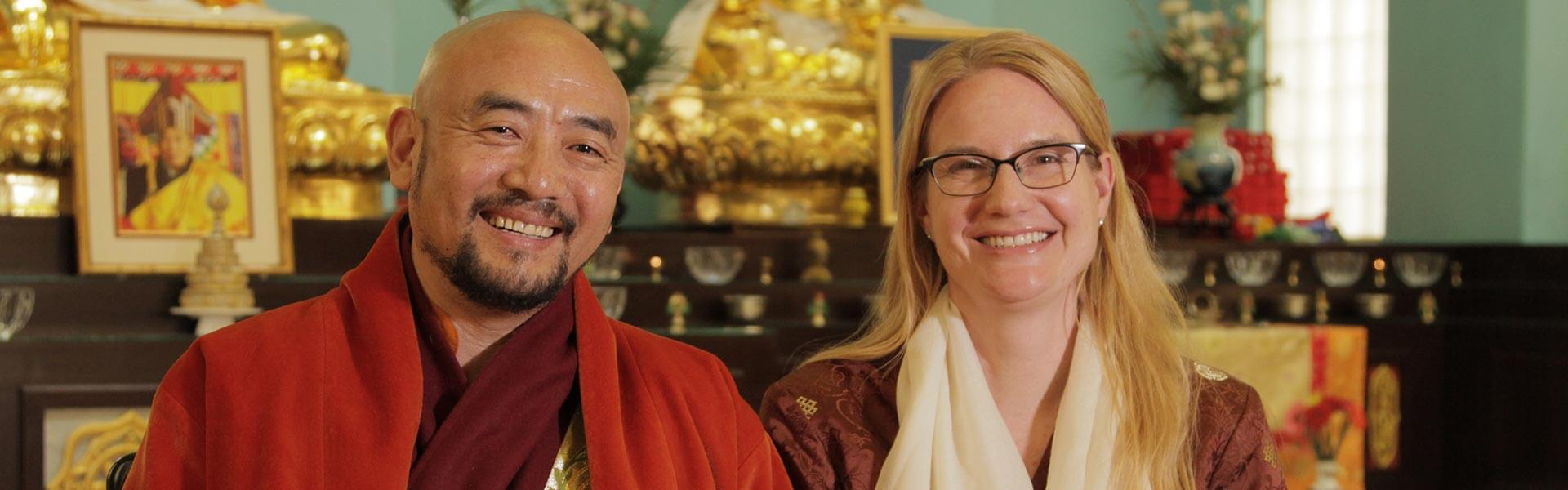 Medicine Buddha Monlam with Anyen Rinpoche and Allison Choying Zangmo