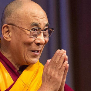 Dalai Lama by Christopher Michel