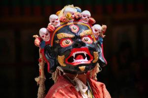 Tibetan Buddhism, Mani Rimdu festival of masked dance-drama