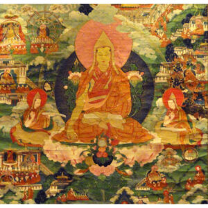 Tsongkhapa (1357–1419), Gelug school of Tibetan Buddhism, philosopher and a prolific writer, The Great Treatise on the Stages of the Path