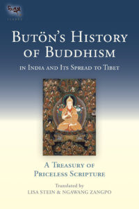 Buton's History of Buddhism in India and Its Spread to Tibet A Treasury of Priceless Scripture By Buton Rinchen Drup Translated by Ngawang Zangpo and Lisa Stein