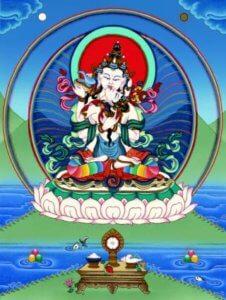 Vajrasattva with consort, Tibetan Buddhism