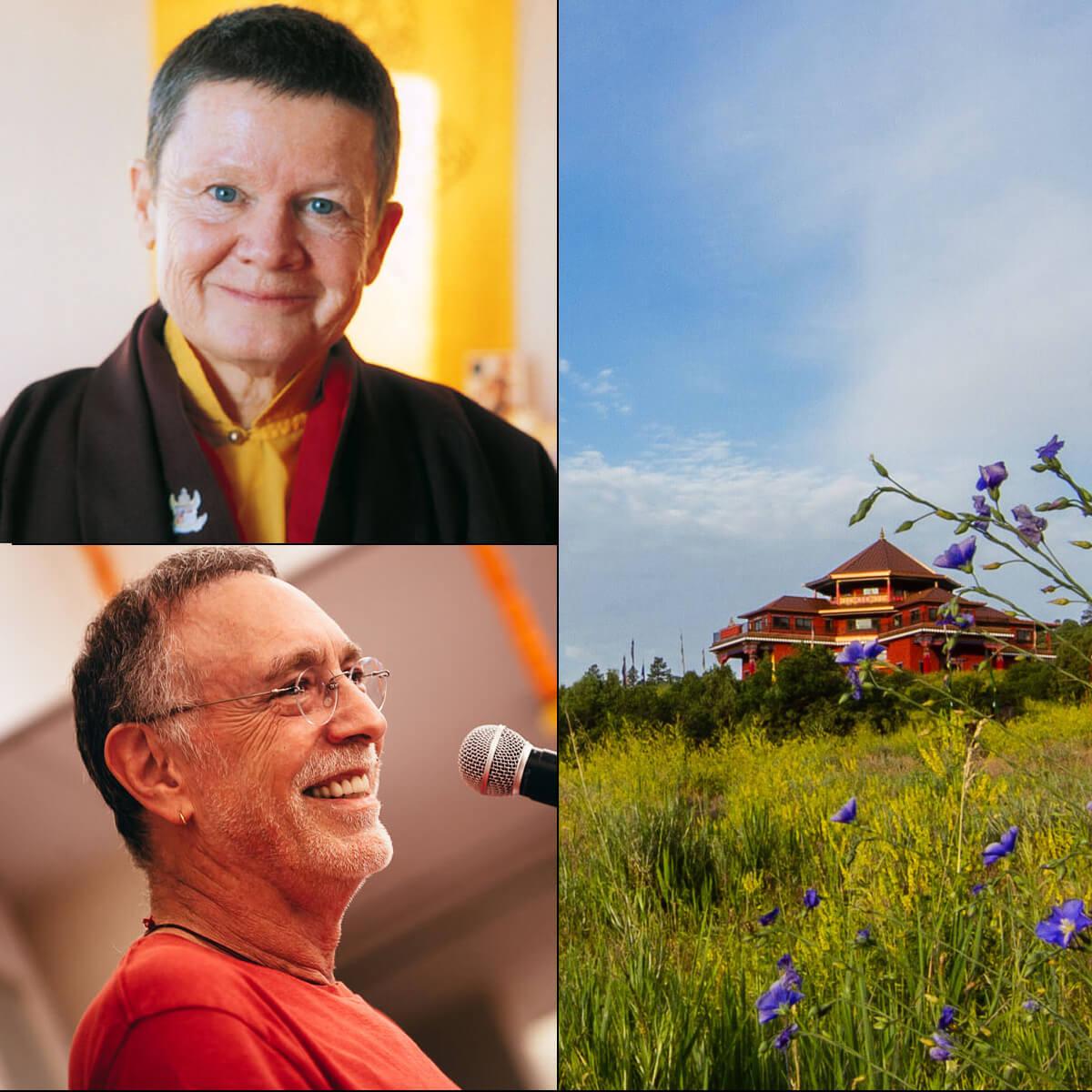Special One-Day Benefit for Tara Mandala: Intimate Dialogue and Afternoon Tea with Pema Chödrön & Evening Concert with Krishna Das