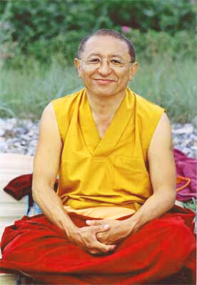 Chokyi Nyima Rinpoche in Mexico City