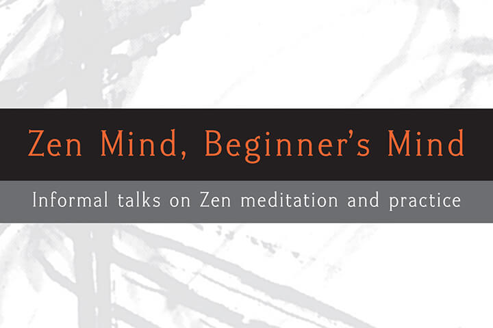 Book Club Discussion | Zen Mind, Beginner's Mind