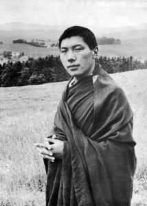Chogyam Trungpa (1940–1987)—meditation master, teacher, and artist—founded Naropa University in Boulder, Colorado, the first Buddhist-inspired university in North America; the Shambhala Training program