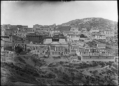 Ganden monastery, from Charles Bell, 1921