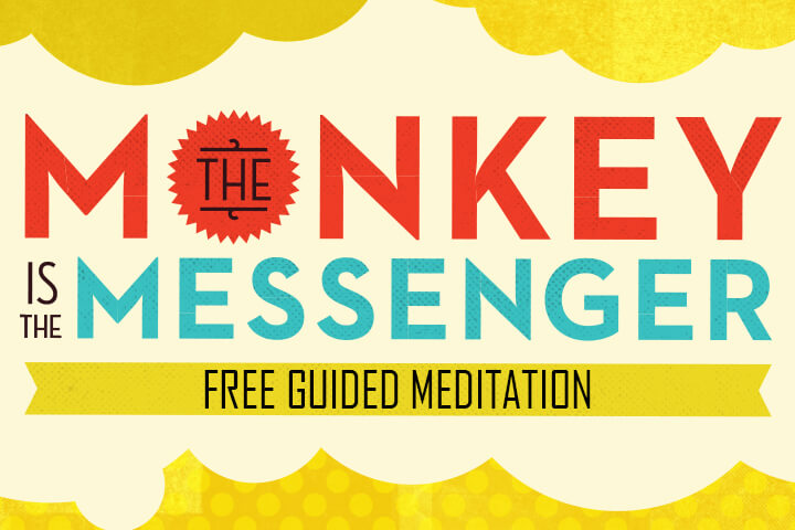 Free Download | A 15-Minute Guided Audio Meditation from The Monkey is the Messenger